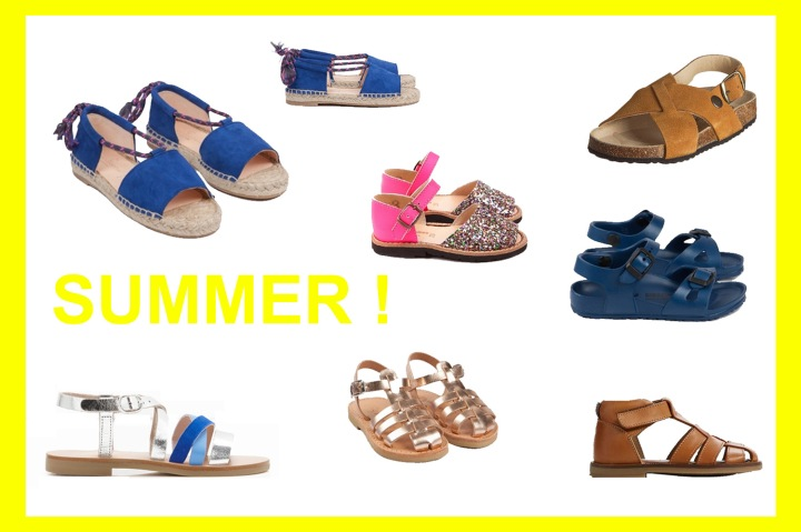 SUMMER SHOES ▲△ KIDS SELECTION