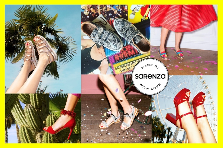 MADE BY SARENZA 👠 MADE IN EUROPE !
